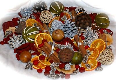 Xmas  Luxury Potpourri-Warming winter fragrance Orange cinnamon botanicals Gift