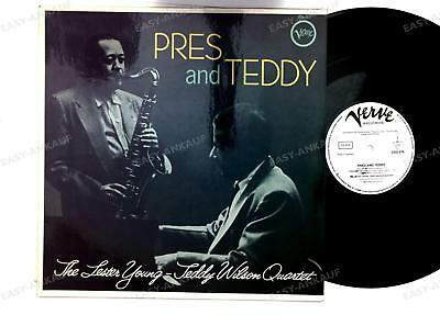 The Lester Young-Teddy Wilson Quartet - Pres And Teddy - GER LP (Promo) /3