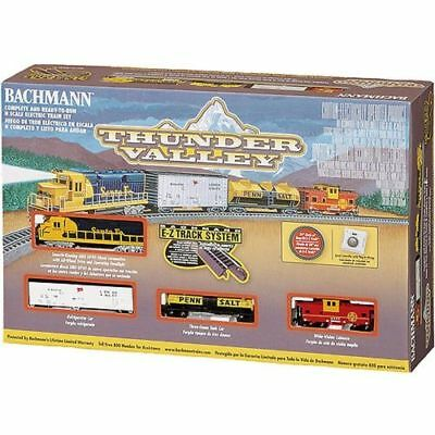 "Bachmann"" N ""Scale Thunder Valley Electric Train Set,Ez track System"