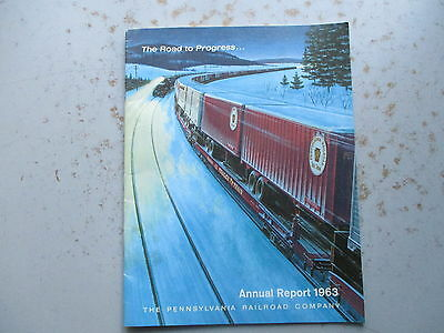 Pennsylvania Railroad Annual Report for 1963