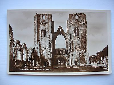 Elgin Cathedral -- West Towers. (Ness Series)