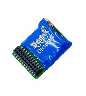 Digitrax DH166MT HO Scale DCC Decoder 6 Function 21-Pin 5093