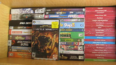 Lot Of 15 Miscellaneous Games And Software Brand New