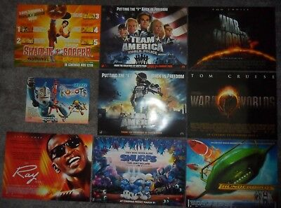 Job Lot 34 x VARIOUS ORIGINAL UK MINI POSTERS - Doctor Strange Kong Skull Island