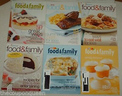 17 Issues of Kraft Food & Family * 2003,2005,2006,2007,2008,2009 *