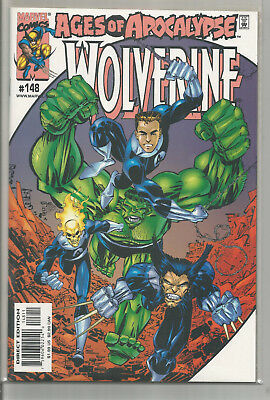 Wolverine # 148 * Ages Of Apocalypse * Near Mint