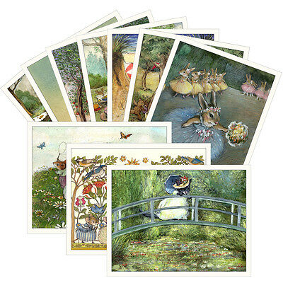 Wee Forest Folk 10 Assorted Note cards