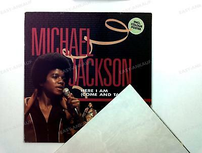 Michael Jackson - Here I Am (Come And Take Me) UK LP 1984 + Poster /3