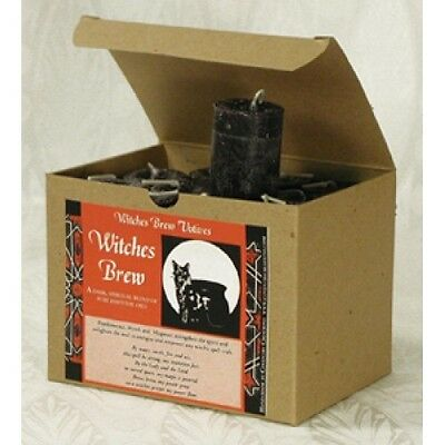 Witches Brew Candles Coventry Creations BOX of 24 Power Protection votives Wicca