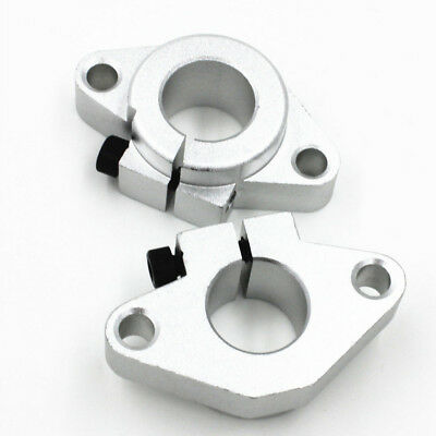 2 Pieces of SHF50 Linear Rail Shaft Guide Support Rust and Acid Proof Holder