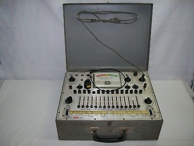 EICO Model 667 Dynamic Conductance Tube and Transistor Tester WorksFree Shipping
