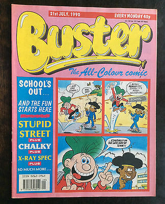 Buster Comic  21 July 1990. Fn+/vfn.