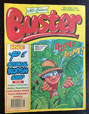 Buster Comic  20 June 1992. Fn+
