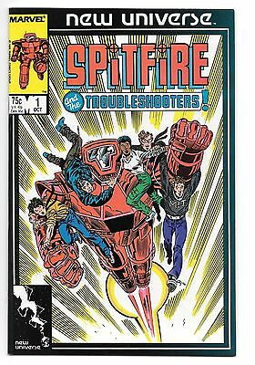 Spitfire and the Troubleshooters #1 (Oct 1986, Marvel)