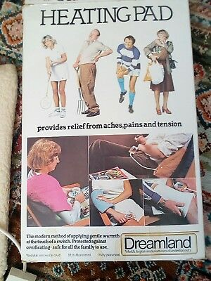Nice Branded Dreamland Heat Pad For Aches,pains And Tension Relief,arthritis,vgc