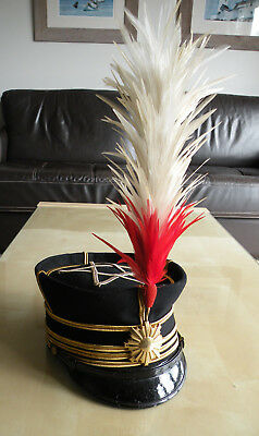 Rare Original WW2 Imperial Japanese Army Field Grade Officer's Dress Hat (Named)