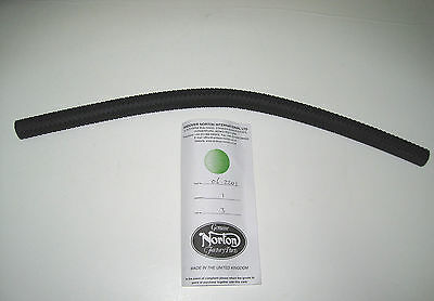 "Norton Oil Line 15 1/2"" Braided Hose Tubing Tube MADE IN ENGLAND 06-2201"
