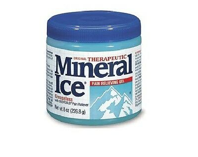 Mineral Ice Cool Greaseless Pain Reliever 8 oz