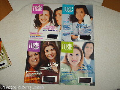 7 Issues of Rosie Magazine 2001
