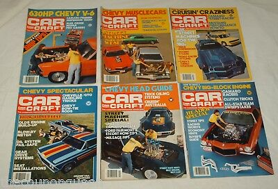 Car Craft Magazine 1981 12 Issues