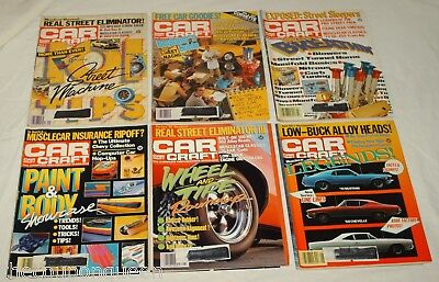 Car Craft Magazine 1987 12 Issues