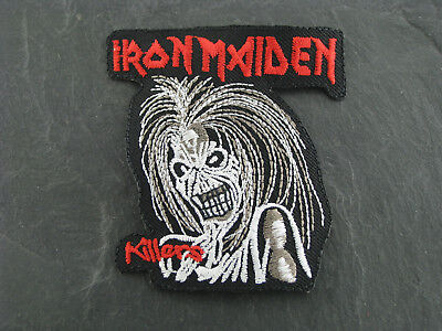 Patches Aufbügler Aufnäher Iron Maiden Rock'N'Roll Hardrock Heavy Metall