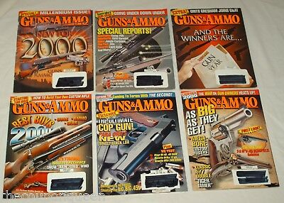 Guns & Ammo Magazine 2000 12 Issues