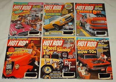Hot Rod Magazine 1990 12 Issues