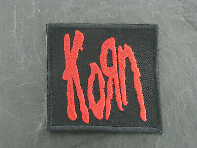 Patches Aufbügler Aufnäher Korn Rock'N'Roll Hard Rock Alternative Metal