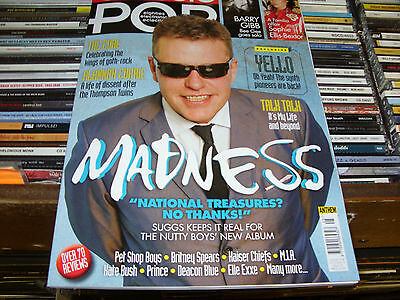 Classic Pop Magazine Issue 25 OCT/NOV 2016 MADNESS THE CURE YELLO TALK TALK NEW