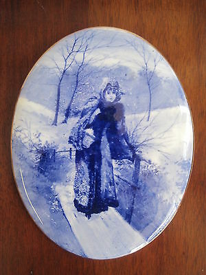 Lovely Royal Doulton Blue Children Plaque
