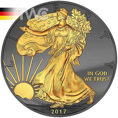 Liberty Golden Enigma 1 oz BU Silver Coin 1$ United States 2017