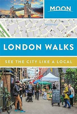 Moon London Walks by Moon Travel Guides Paperback Book Free Shipping!