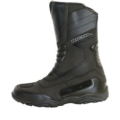 Richa Vapour Waterproof Motorcycle Boots Motorbike Weather Resistant Touring