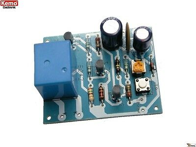 S162 - Time Switch Timer 12V = approx. 2 SEK - 5 Min Kemo B042 Kit