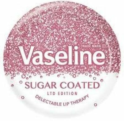 Vaseline Lip Therapy Sugar Coated Lip Balm Smooth PInk Tint Ltd Edition