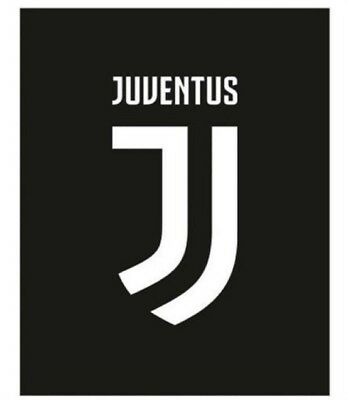Plaid Juventus In Pile Ufficiale Juve Nuovo Logo JJ PS 08829