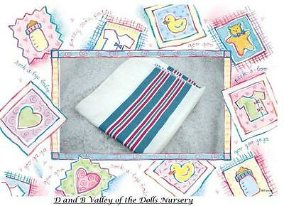 3 Hospital  Receiving Blanket for Reborn Baby ~ REBORN DOLL SUPPLIES