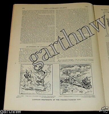Lynching Epidemic 1901 Feature + Best Selling Books And Art Price Lists