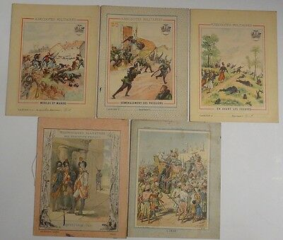Guerre 1870 Anciens Cahiers D'ecoliers Anecdotes Militaires