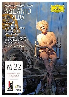 Mozart-Ascanio In Alba-Opera-2007-104 minutes-DVD-Sealed-NEW-Made in Germany