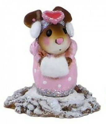 Wee Forest Folk M-476 Little Missy Valentine - Pink Version