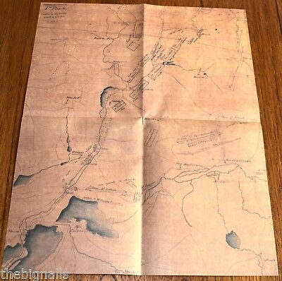 1805 Napoleon 3 French Maps for the Battle of Austerlitz