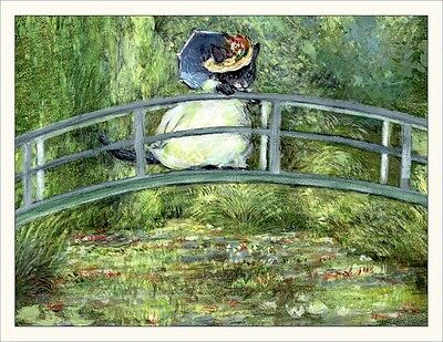 Wee Forest Folk Note#18 - Monet Kitty Note Cards Set of 6