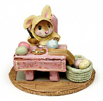 Wee Forest Folk M-175 Mousie's Egg Factory Yellow