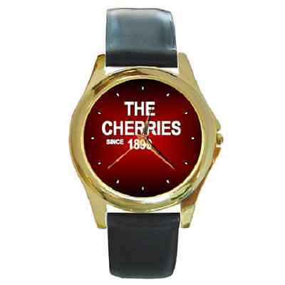 **new* The Cherries Since 1899 Bournemouth Round Wristwatch **lovely Gift Item**