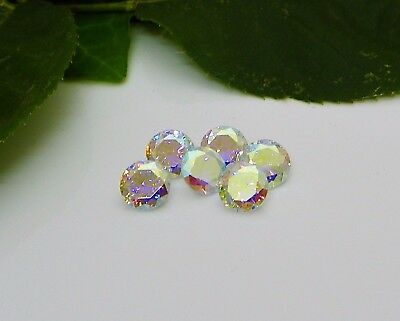 8mm Round Rainbow Opal Cubic Zirconia (CZ) AAAAA Excellent Quality