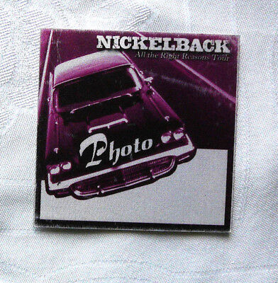 Nickleback All The Right Reasons Photo  Tour Pass Official Issue