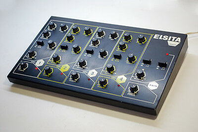 Used Rmif Elsita Soviet Ussr Analog Drum Machine Synthesizer