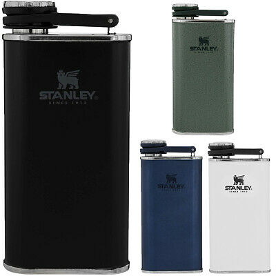 Stanley Classic 8 oz. Wide Mouth Single Wall Insulated Stainless Steel Flask